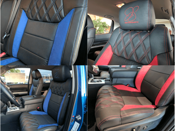 Custom Leather Seats in the bay area