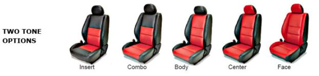 Leather Seat Options