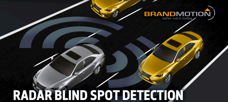 Blind spot detection system for safe lane changes