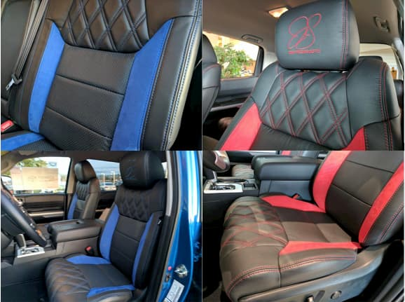 Katzkin leather seat cover options